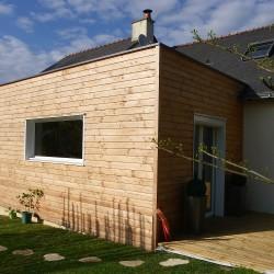 Agrandissement cube - terrasse bois 49