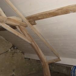 Travaux aménagement combles lambris intérieur en sapin du Nord