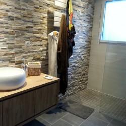 aménagement intérieur - salle de bain - douche à l'italienne