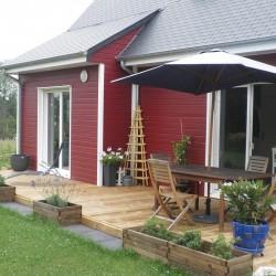 aménagement extérieur Terrasse bois